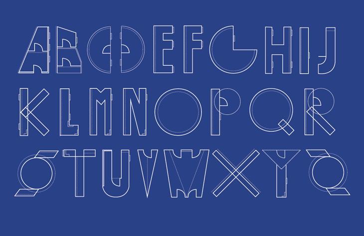 Build Typeface Design