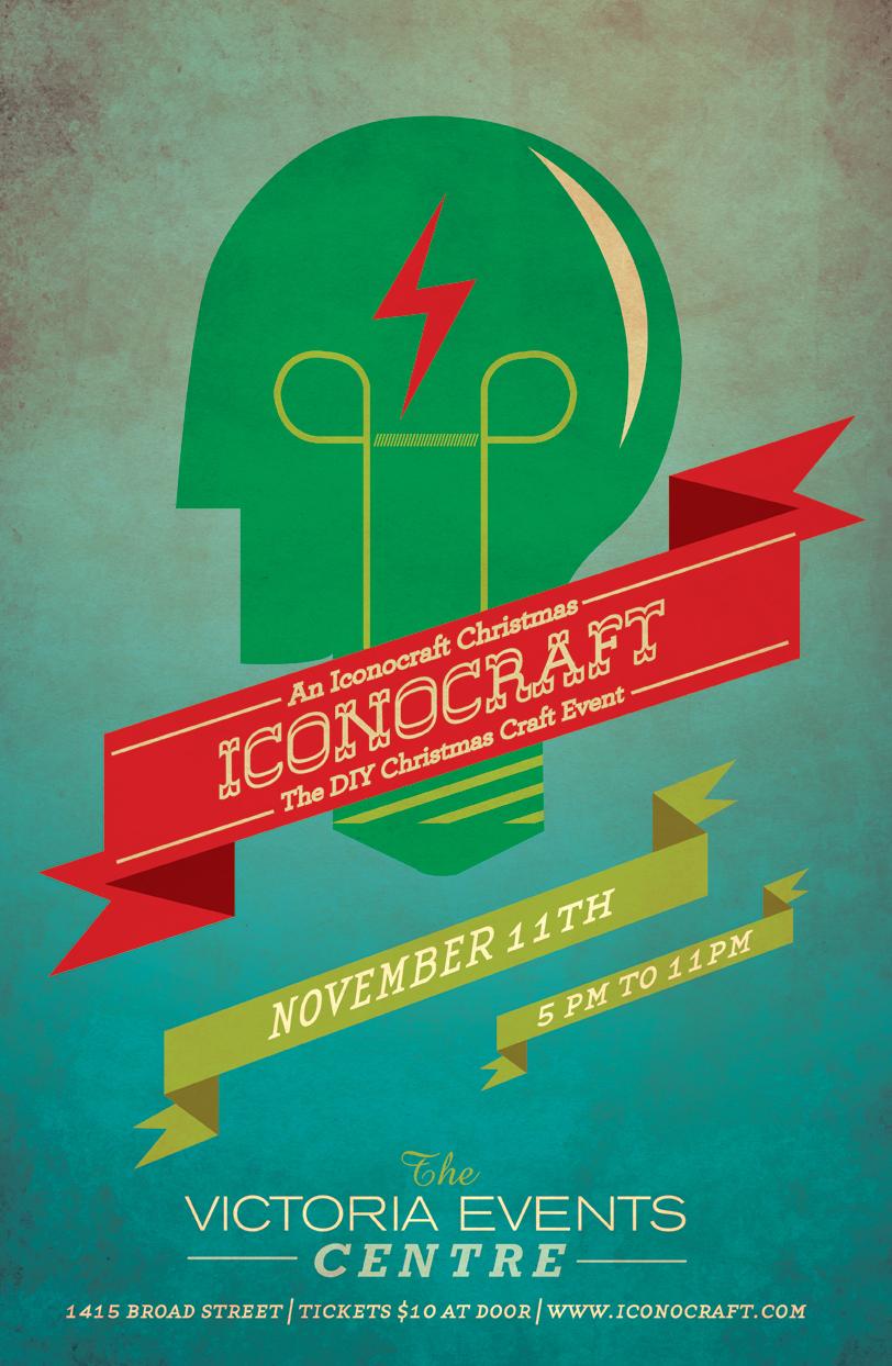Iconocraft DIY Xmas Poster